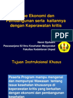 Issue Ekonomi dan Pembangunan serta kaitannya dengan Kepera.ppt