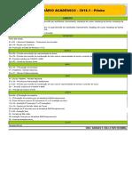 Calendario Academico 2018.1