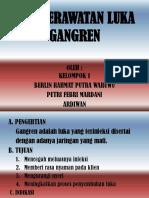 Sop Perawatan Luka Gangren