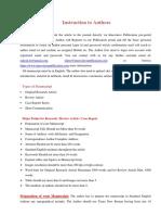 Author Guidelines IJPO