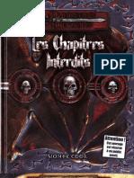 Les Chapitres Interdits D&D 3.5