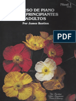 312046876 Curso de Piano Para Principiantes y Adultos Por James Bastien Nivel I Text