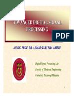 Advanced DSP 1