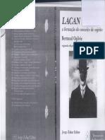 76132450 Ogilvie Lacan a Formacao Do Conceito de Sujeito