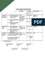 Cronograma de Actividades Del Comité de Riesgos 2 016