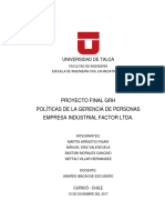 GRH (a) Proyecto Final%2c Arraztio Diaz Morales Villar