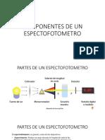 Componentes de Un Espectofotometro
