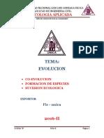 Evolucion 2016 II