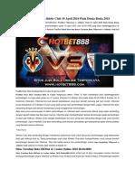 Prediksi Villarreal vs Athletic Club 10 April 2018 Piala Dunia Rusia 2018