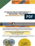 Espacios publicos de La Parroquia Pedro Maria Morantes