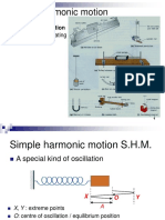 1.9 Simple Harmonic Motion