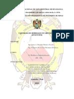 Informe Final No Metálicos (Práctica)