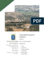 Geologia de Campo Informe
