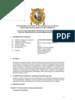 Análisis de Sistemas de Información 2017-i Plan 2009