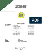 Laporan Tetap Praktikum Kimia Analitik Instrument