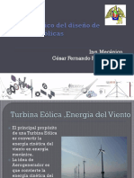 Marco Teórico Del Diseño de Turbinas Eólicas