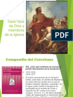 Catequesis Bautismo
