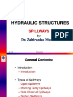Hydraulic Structures Spillways