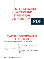 5. Mgf, Discrete Statistical Distributions -551 (1)
