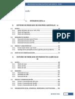 Estudio de Mercado de Insumos Agricolas UNMS
