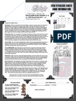 Chiefs Game Notes 4-8-18