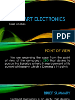 Case Analysis_tecsmart Electronics