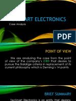 Case Analysis_tecsmart Electronics
