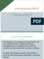 Capacitación Protocolo MUN