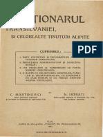Dictionarul transilvaniei