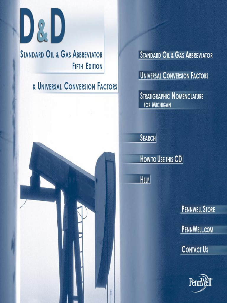 181994534-Oil-and-Gas-Abbreviator-pdf pdf | Barrel (Unit) | Petroleum