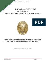 Guias de Laboratorio de circuitos electrónicos