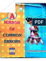 A Mirror of Common Errors by Dr Ashok .k. Singh