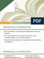 TESIS - Hipotesis de Investigacion