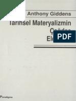 Anthony Giddens Tarihsel Materyalizmin Çağdaş Eleştirisi Paradigma Yayınları