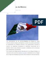 Las Banderas de México