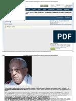 """Arde El Vaticano_ """"La Situación Es Intolerable. No Sólo Es Posible, Sino Necesario Criticar Al Papa"""" (Cardenal Burke)"""