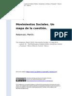 Retamozo Martin (2010) Movimientos Sociales - Un Mapa de La Cuestión