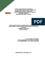 """VIVERO AGROECOLÓGICO, CONSERVACIÓN Y PRESERVACIÓN DE ÁREAS VERDES. PARQUE HISTÓRICO ARQUEOLÓGICO SAN FELIPE """"EL FUERTE"""". YARACUY, VENEZUELA"""