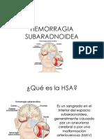 hemorragia subaradnoidea