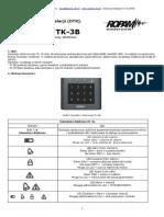 Instrukcja Tk 3