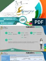 Matematicas 6 2p 2017