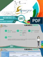 Matematicas 6 4p 2017