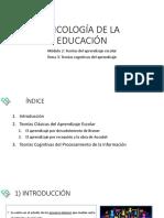 Apuntes Psicología de la Educación