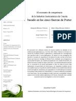 Dialnet-ElEscenarioDeCompetenciaDeLaIndustriaGastronomicaD-4195320