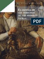 En Defensa de Los Derechos de Los Animales - Tom Regan