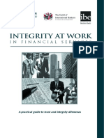 Integrity at work