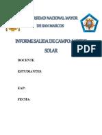 Informe Morro Solar