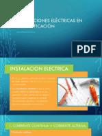 Instalaciones Eléctricas en Una Edificación
