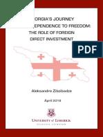 Aleksandre Zibzibadze - International Business Confirmation Paper