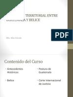 DIFERENDO TERRITORIAL ENTRE  GUATEMALA Y BELICE.pptx